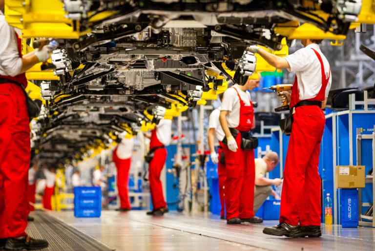 Photo usine automobile Kia Zilina