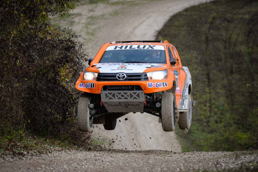 photo essai du Toyota Hilux Dakar 2016 de Ronan Chabot et Gilles Pillot