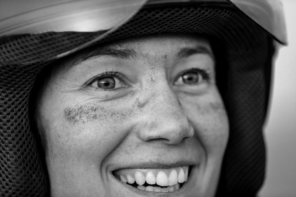 Photo Portrait féminin en Noir et Blanc