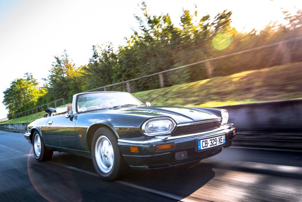 photo jaguar cabriolet xj