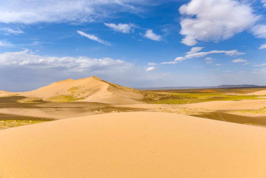 photo illustration mongolie desert de gobi