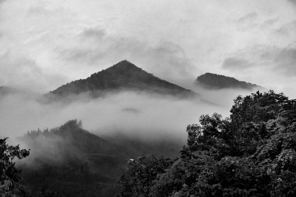 photo paysage nuages vietnam