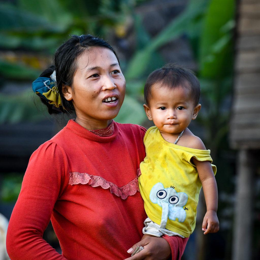 photo portrait femme enfant
